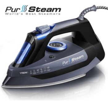Professional-Grade-1700W-Steam-Iron-for-Clothes-with-Rapid-Even-Heat-Scratch