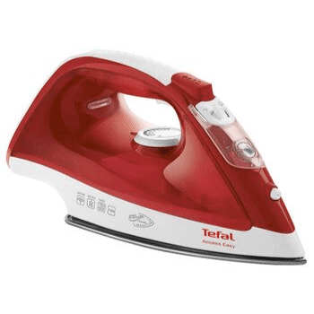 red tefal acess steam iron fv1533