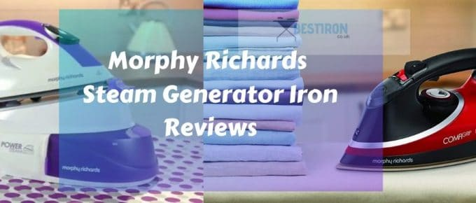 Best Morphy Richards steam Irons