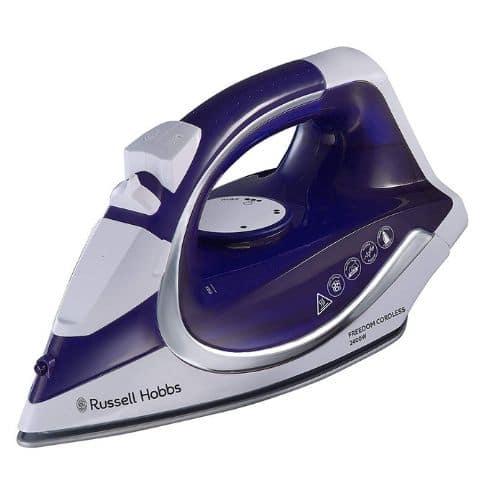 Russell Hobbs 23300 Freedom Cordless Iron 2400 W Purple White