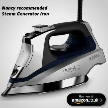 our recommended steel steam iron
