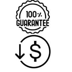 price and gurantee of battery powered iron