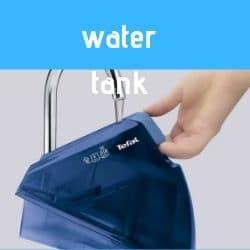 water of cordless iron