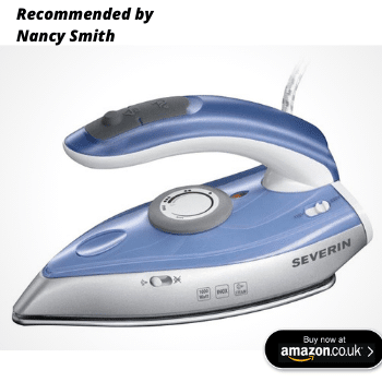 Top travel iron on amazon uk