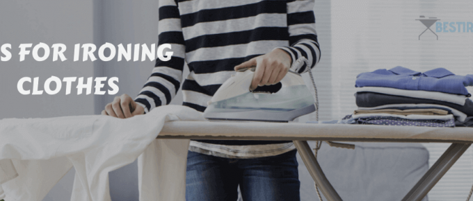 how to iron your clothes