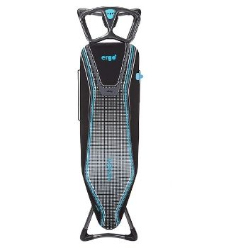 Brabantia Ironing Board with Heat Resistant Parking Zone, Titan Oval, Size D