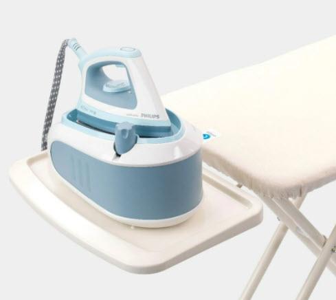 Steam generator ironing board stand
