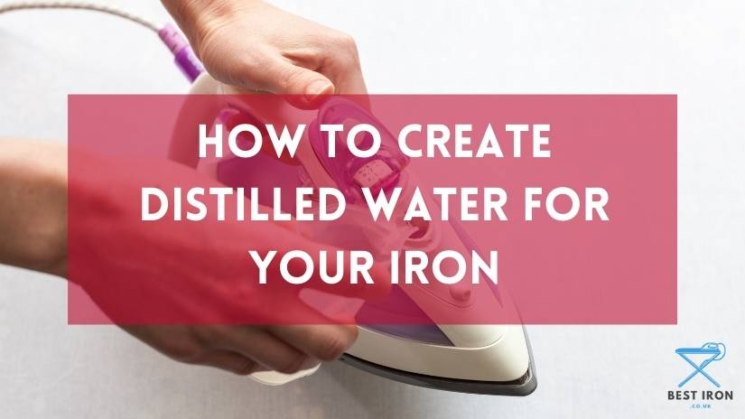 How to created distilled water