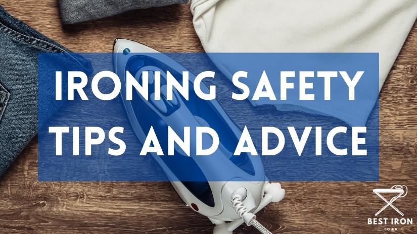Ironing safety tips